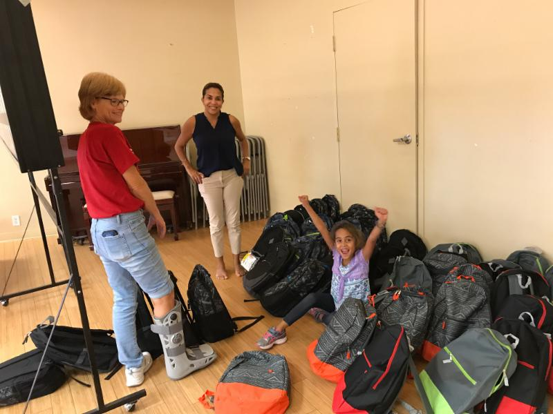 Backpack Ministry St Nicholas Episcopal Pompano